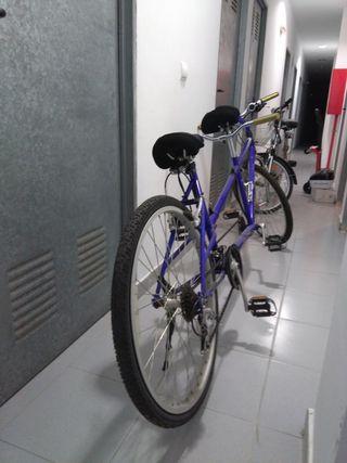 Bicicleta tándem de montaña