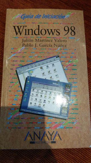 Guía de iniciación Windows 98