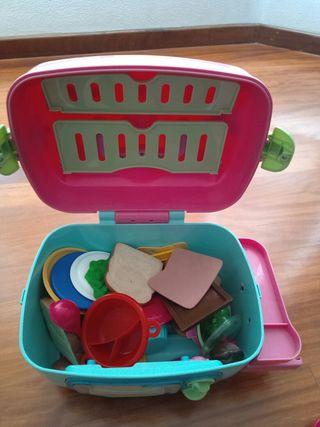 cocina portatil de juguete