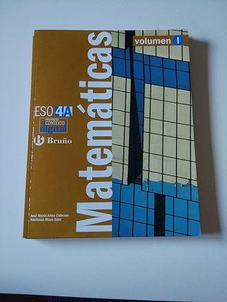 Matemáticas 4 ESO