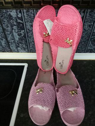 zapatillas goma