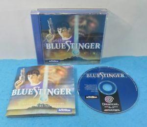 blue stinger sega dreamcast completo pal
