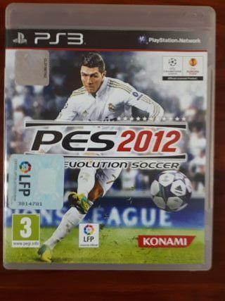 PES 2012 - SONY PLAYSTATION 3 - FUTBOL