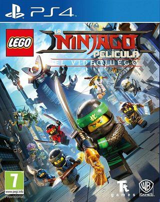Lego Ninjago PS4 nuevo y precintado