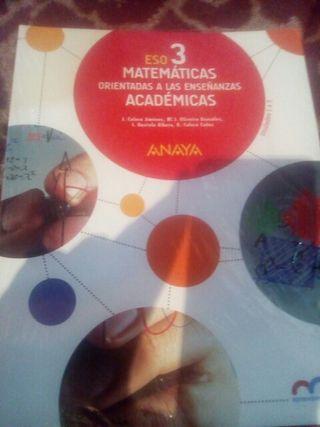 matemáticas orientadas a las enseñanzas 3 ESO AN