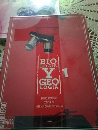 biologia y geologia, 1 bachillerato editorial SM.