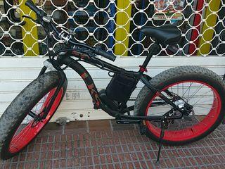 vendo bicicleta eléctrica 25km cómo nueva
