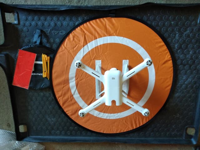 base aterrizaje drone 75 cm. nueva