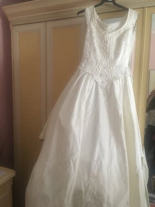 vestido de novia de segunda mano en málaga en wallapop