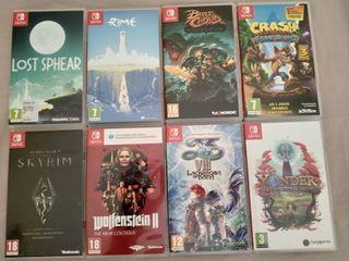 Vendo Juegos Nintendo Switch
