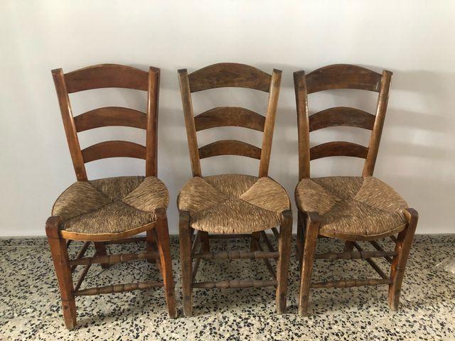 Sillas antiguas sof de terciopelo rojo de madera de segunda mano por 1 en madrid en wallapop - Sillas de madera antiguas ...