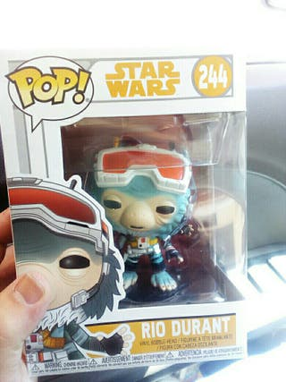 Figura Funko Pop Rio Durant Star Wars