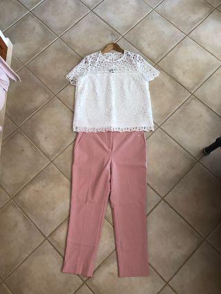 Conjunto pantalon top