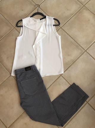 Conjunto pantalon y top