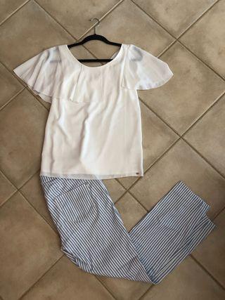 Conjunto pantalón+ top