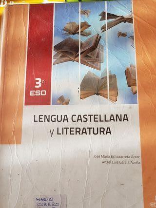 Lengua Castellana y Literatura 3 ESO EDITEX