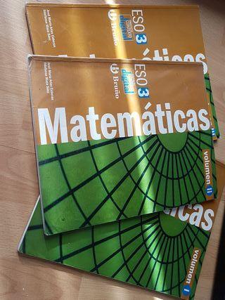 Libro Matrmaticas 3 ESO Bruño