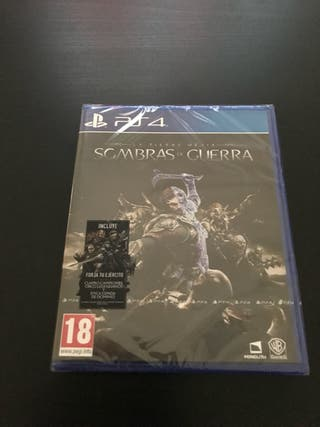 PS4 Sombras de Guerra