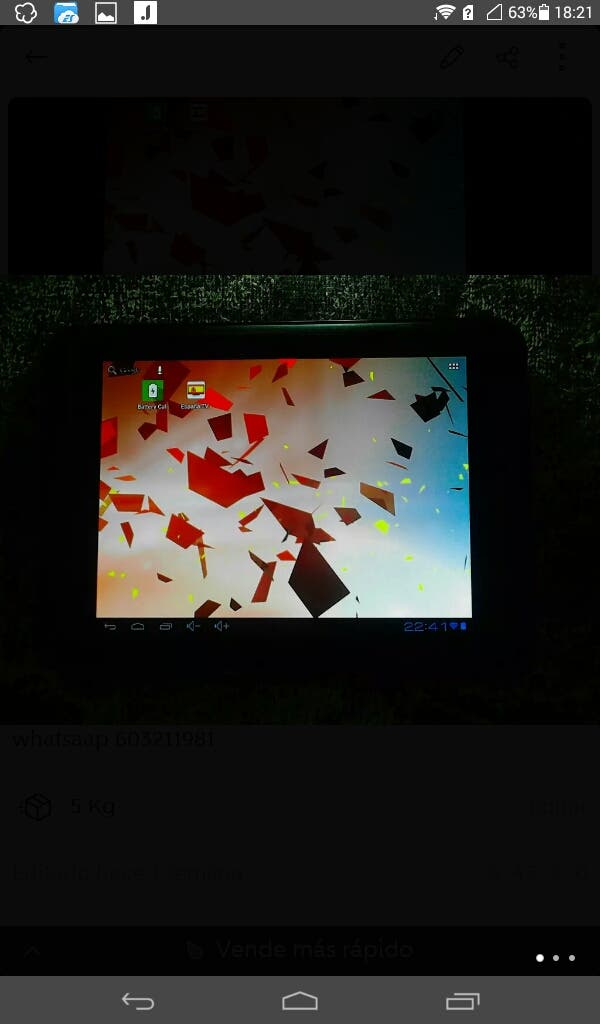 """TABLET VIXION 8"""" HDMI"""