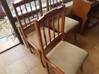 Juego de 5 sillas
