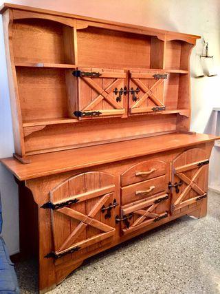 Mueble ikea rusticos de segunda mano en wallapop for Muebles de jardin segunda mano