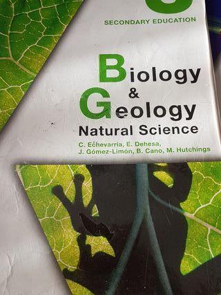 Biology & geology Natural Science 3ESO Anaya