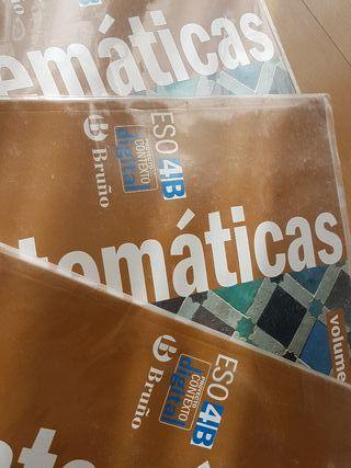 libro matematicas 4 ESO BRUÑO
