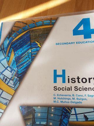 History Social Science 4 ESO Anaya