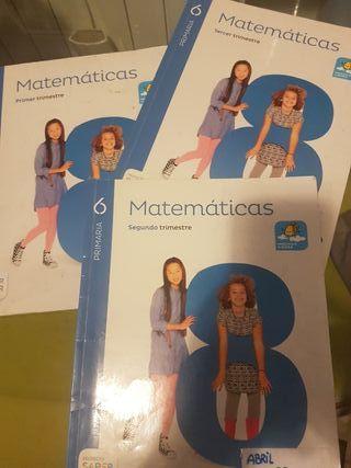 libros matematicas 6 ° primaria