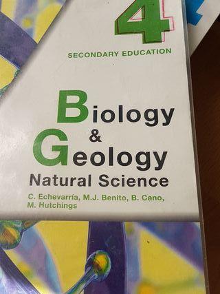 libro Biology & Geology Natural Science 4 ESO Anay