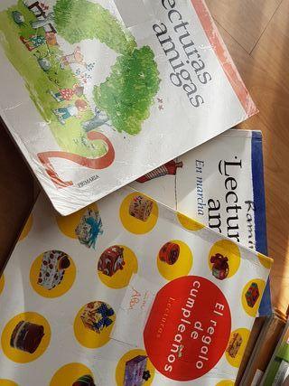 Lectiras amigas 1 y 2 primaria 5 euros cada libro