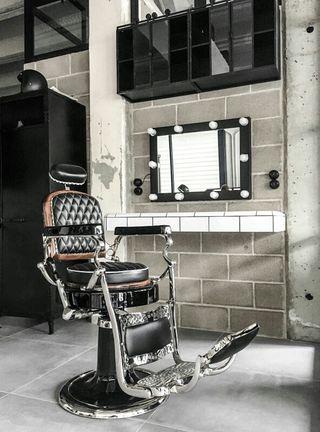Antiguo sillon de barbero Jaso N°1