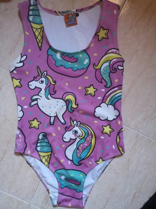Bañador unicornio mujer