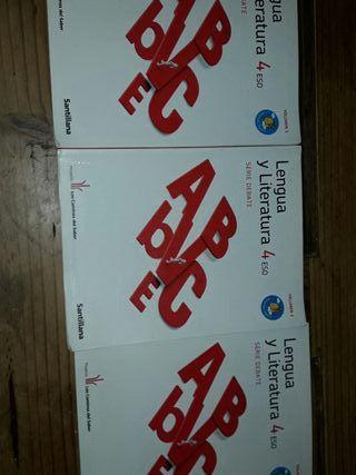 Sólo 6 Lite Libros 4ESO Lengua y Literatura