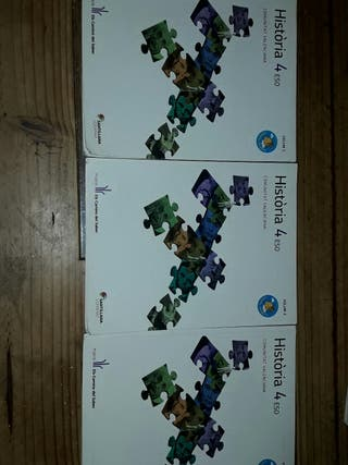 Sólo 6 euros Lote Libros 4ESO Història