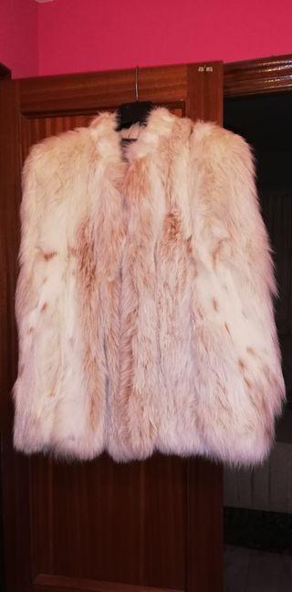Abrigo de piel de lince sin estrenar