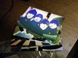 Beatles postales Rock Band