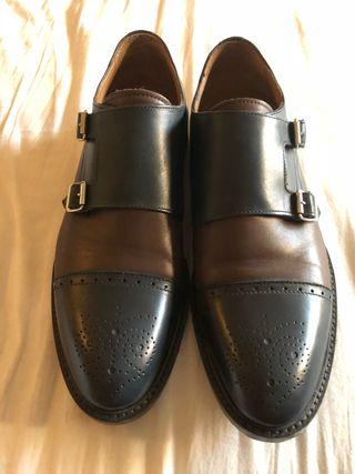 Zapatos italianos piel número 42/43