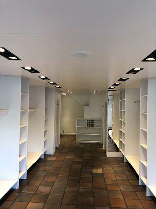Focos iluminación tienda o local comercial