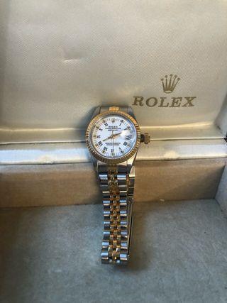 relojes rolex de mujer dorado