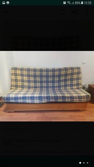 sofa cama cajon y transporte