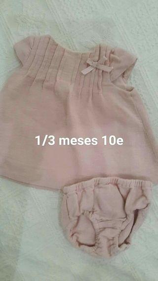 Vestido bebe zara