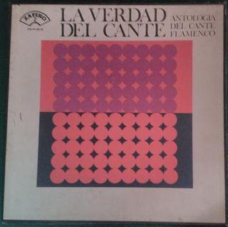 PACK 3 LP'S VINILO: LA VERDAD DEL CANTE