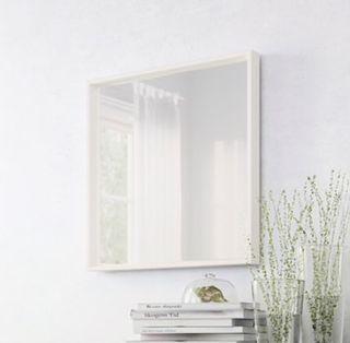 Espejo blanco ikea nuevo de segunda mano por 20 en madrid en wallapop - Espejo blanco ikea ...