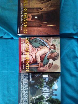 Libros historia del arte. Lote.Nuevos.