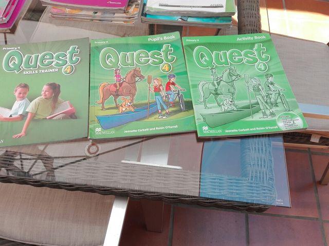 Libro texto de ingles cuarto de primaria de segunda mano por 10 € en ...