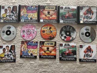 Juegos ps1 originales