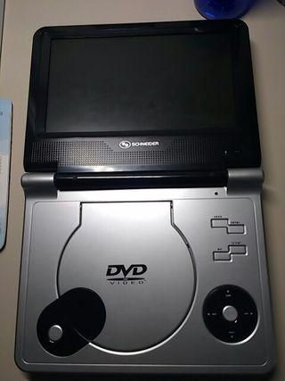 DVD portátil Schneider.