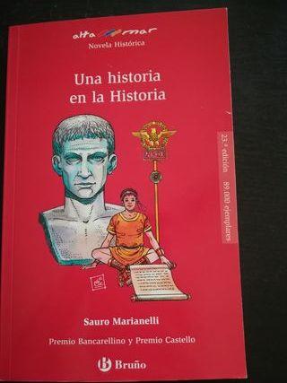 Libro lectura Una historia en la historia