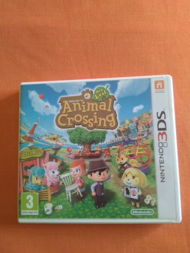 Juego Nintendo 3ds Animal Crossing New Leaf De Segunda Mano Por 15